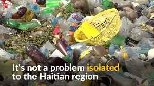 Haitian coastline covered in a tide of plastic pollution [Video]