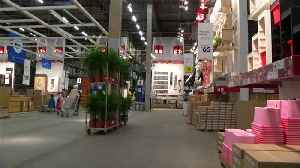 Online shopping surge helps lift IKEA's full-year sales [Video]