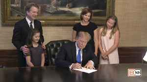 News video: Supreme Court Associate Justice Kavanaugh's Swearing In Highlights