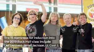 The Newest Nominees For The Rock And Roll Hall Of Fame Are... [Video]