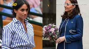 News video: What Will Kate Middleton and Meghan Markle Wear to Princess Eugenie's Wedding?