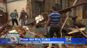 News video: Hurricane Michael Left A Path Of Destruction In Western Cuba