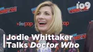 News video: Jodie Whittaker on Her Doctor Who Legacy | NYCC 2018 | io9