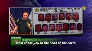 Operation Cyber Guardian: 13 Alleged Child Sex Predators Arrested In Florida [Video]