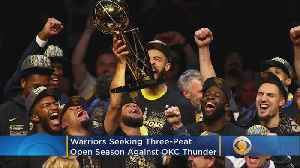 News video: Can The Golden State Warriors Three-Peat?