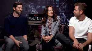 News video: 'The Haunting Of Hill House' Cast Interview