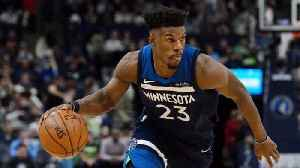 News video: Jimmy Butler Practices With Timberwolves, Has Heated Exchange With GM, Teammates