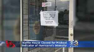 Waffle House In Panama City Closes Before Hurricane Michael [Video]
