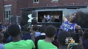 Joel Embiid Surprises Students At The Boys And Girls Club Of Northeast Frankford [Video]