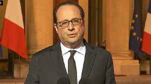 French President Francois Hollande holds conference after deadly Champs Elysees shooting [Video]