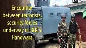 Encounter between terrorists, security forces underway in J&K's Handwara [Video]