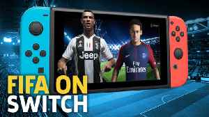 FIFA 19 Nintendo Switch Full Match Gameplay - Juventus vs. FC Barcelona [Video]