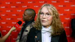 Mia Farrow has tried to leave Woody Allen controversy in her past [Video]