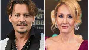 Johnny Depp Claims JK Rowling 'Knows' He Was 'Falsely Accused' [Video]