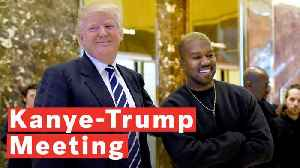 Kanye West's Top Quotes From His Meeting With Trump [Video]