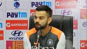 News video: India Vs West Indies 2nd Test:Virat Kohli wants Team India to be at the top of game|वनइंडि&#