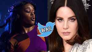 Lana Del Rey Ready To Fight Azealia Banks: Twitter Feud Explained [Video]