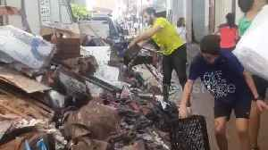 Majorca residents continue to clean up after deadly flash flooding [Video]
