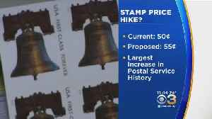 US Postal Service Proposes Stamp Price Hike [Video]