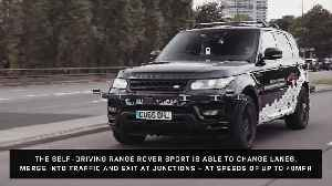 Self Driving Range Rover Sport [Video]