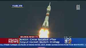 News video: Booster Rocket Failure Prompts Emergency Landing, 2 Astronauts In Good Condition