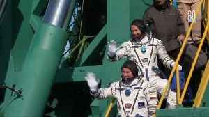 News video: Rocket carrying two astronauts fails mid-air