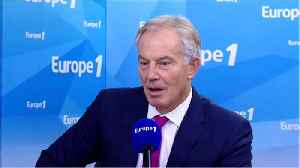 Tony Blair Says There's A 50-50 Chance Of Another Brexit Referendum [Video]