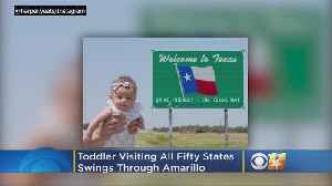 5-Month-Old Baby Set To Become Youngest Person To Visit All 50 States [Video]