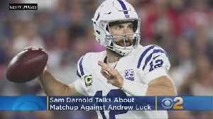 Jets' Darnold Drawing Early Comparisons To Colts' Luck [Video]