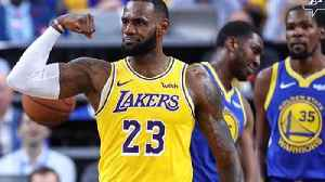 News video: LeBron James & The Lakers Embarrass The Warriors 123-113: Rivalry On