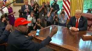 News video: Kanye 'gets it': Trump