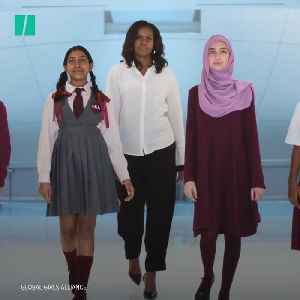 Michelle Obama Educates Girls [Video]