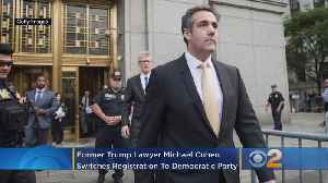 Former Trump Lawyer Michael Cohen Switches To Democratic Party [Video]
