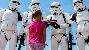 Stormtroopers Spotted On Star Wars Television Series Set [Video]