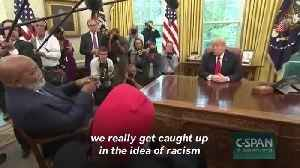 News video: Kanye West's Top Quotes From His Meeting With Trump