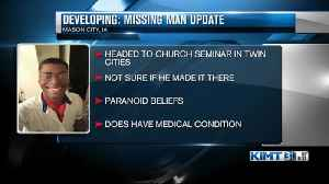 Latest on search for missing Mason City man [Video]