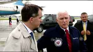 Pence in Eau Claire [Video]