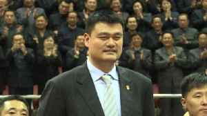 Ex-NBA star Yao Ming attends basketball friendly in N. Korea [Video]