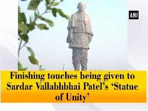 News video: Finishing touches being given to Sardar Vallabhbhai Patel's 'Statue of Unity'