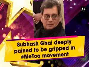 Subhash Ghai deeply pained to be gripped in #MeToo movement [Video]