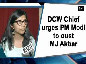 DCW Chief urges PM Modi to oust MJ Akbar [Video]
