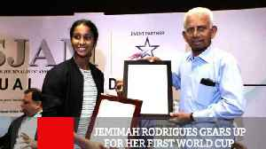 Jemimah Rodrigues Gears Up For Her First World Cup [Video]