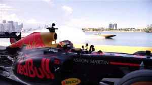 Red Bull F1 car graces Miami Beach and Rocky Mountains in US Road Trip [Video]