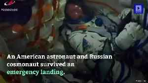 Astronauts Survive Aborted Rocket Launch [Video]