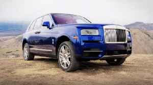 Rolls-Royce's Cullinan SUV lives up to the brand [Video]