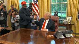 News video: Kanye West goes hero worship on President Trump in Oval Office