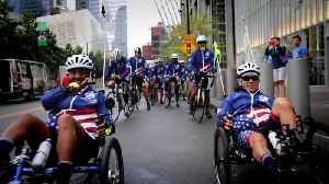 Wounded Warriors Complete Coast-to-Coast Ride [Video]