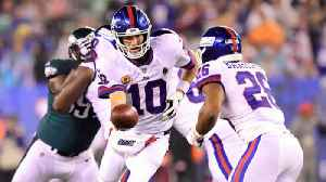 News video: New York Giants crushed by Philadelphia Eagles