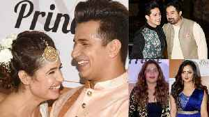 Prince Narula & Yuvika Chaudhary : Priyank Sharma, Rashmi & Others enjoy Sangeet | FilmiBeat [Video]