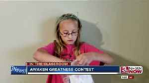 ITC: Fourth grader wins Awaken Greatness Contest through Archdiocese of Omaha [Video]